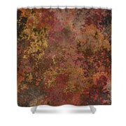 Mend - Abstract Art  Shower Curtain