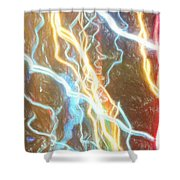 Light Painting - Abstract Art 2 Shower Curtain