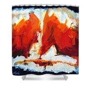 Abstract Art Forty-three Shower Curtain