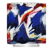 Abstract Art Forty-two Shower Curtain