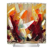 Abstract Art Sixty Shower Curtain