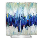 Abstract Art Sixty-two Shower Curtain