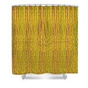 Abstract Autumn Forest Shower Curtain