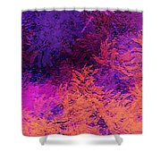 Abstract Autumn Shower Curtain