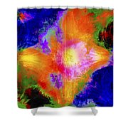 Abstract Series B1 Shower Curtain