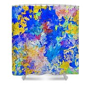 Abstract Series B10 Shower Curtain