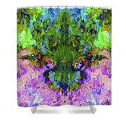 Abstract Series B4 Shower Curtain