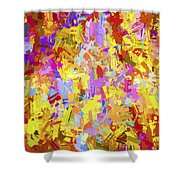Abstract Series B6 Shower Curtain