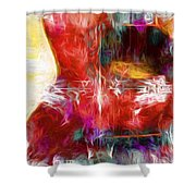 Abstract Series B8 Shower Curtain