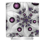 Abstract Beauty Shower Curtain