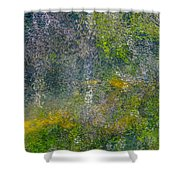 Abstract By Nature Shower Curtain