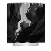 Abstract Canyon 2 Shower Curtain
