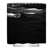 Abstract Canyon Shower Curtain