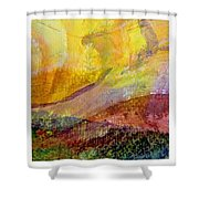 Abstract Collage No. 2 Shower Curtain
