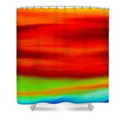 Abstract Colors Shower Curtain