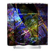 Abstract Composite 1 Shower Curtain