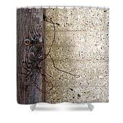 Abstract Concrete 11 Shower Curtain