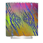 Abstract Cubed 105 Shower Curtain