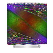 Abstract Cubed 193 Shower Curtain
