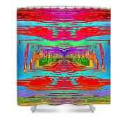 Abstract Cubed 30 Shower Curtain