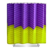 Abstract Cups Shower Curtain