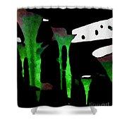 Green Sensation Shower Curtain