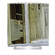 Abstract Doors Shower Curtain