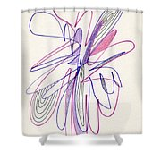 Abstract Drawing Fifty-six Shower Curtain