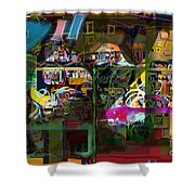 Tefilla Without Cavona 7b J Shower Curtain