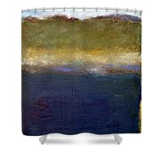 Abstract Dunes Ll Shower Curtain