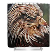 Abstract Eagle Painting Shower Curtain