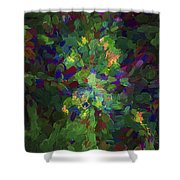 Abstract Series Ex1 Shower Curtain