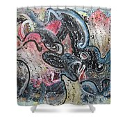 Abstract Expressionsim 02 Shower Curtain