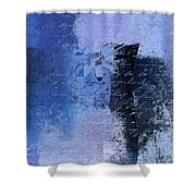 Abstract Floral - 04tl4t2b Shower Curtain