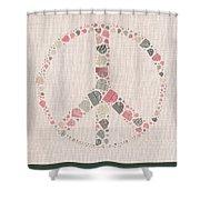 Peace Symbol Design - S77bt01 Shower Curtain