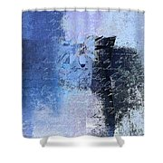 Abstract Floral - Bl3v3t1 Shower Curtain