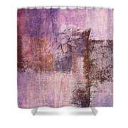 Abstract Floral- I55bt2 Shower Curtain