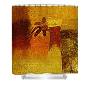 Abstract Floral - P01bt01c11c Shower Curtain