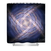 Abstract Fractal Background 17 Shower Curtain