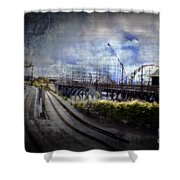 Ghost Ride Shower Curtain