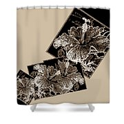 Abstract Fusion 169 Shower Curtain
