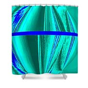 Abstract Fusion 182 Shower Curtain by Will Borden
