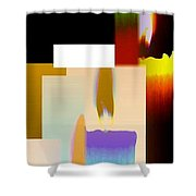 Abstract Fusion 185 Shower Curtain by Will Borden