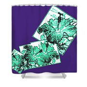 Abstract Fusion 244 Shower Curtain