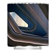 Abstract Future Shower Curtain