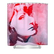 Abstract Garbo Shower Curtain
