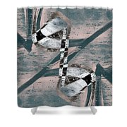Abstract Graffiti 3 Shower Curtain