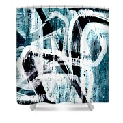 Abstract Graffiti 4 Shower Curtain