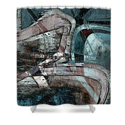Abstract Graffiti 9 Shower Curtain