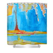 Abstract II Shower Curtain by Patricia Awapara